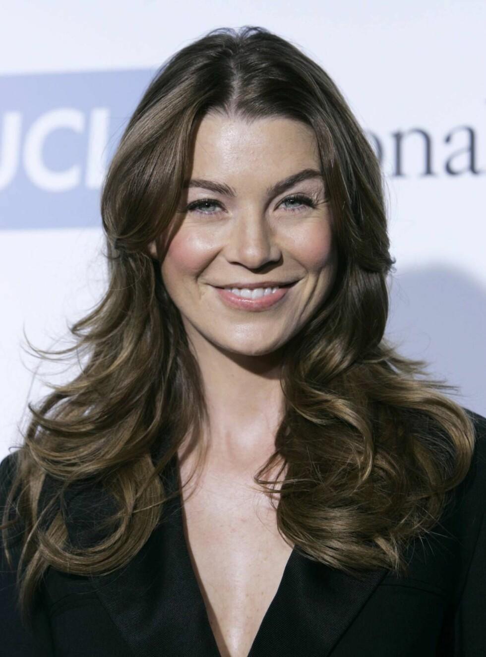 """GLAD: - Jeg måtte flytte sier Ellen som spiller Dr. Meredith Grey - selve tittelrollen i """"Grey's Anatomy"""" Foto: AP/Scanpix"""