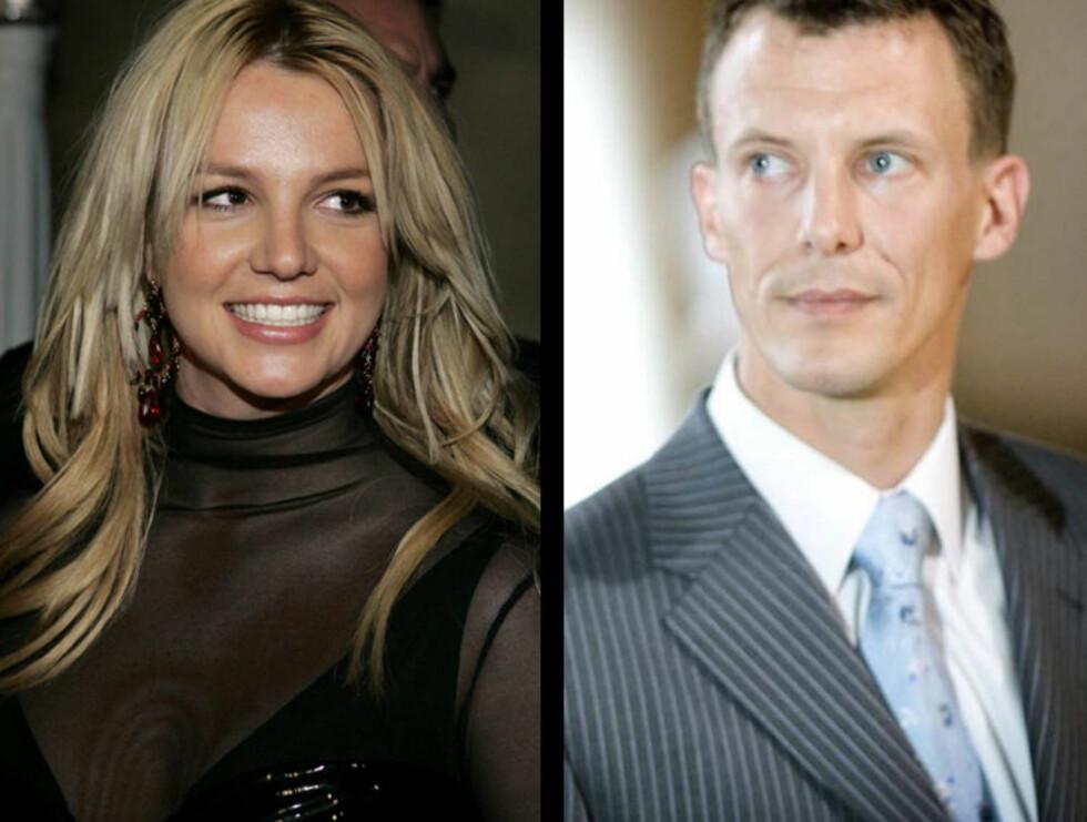 STOR ODDS: Gifter Britney seg med prins Joachim får man 700 ganger pengene tilbake.