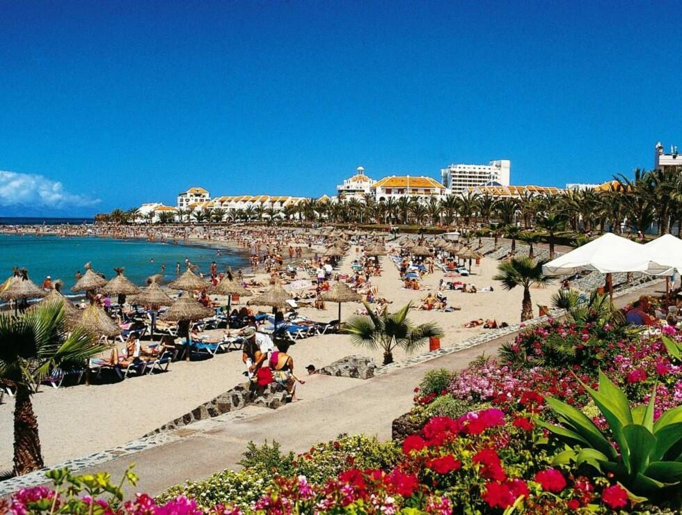 KANARIJUL: Tenk å ligge å kose seg på denne stranda ... Foto: Star Tour