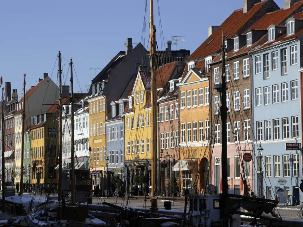 Nyhavn, København, Danmark