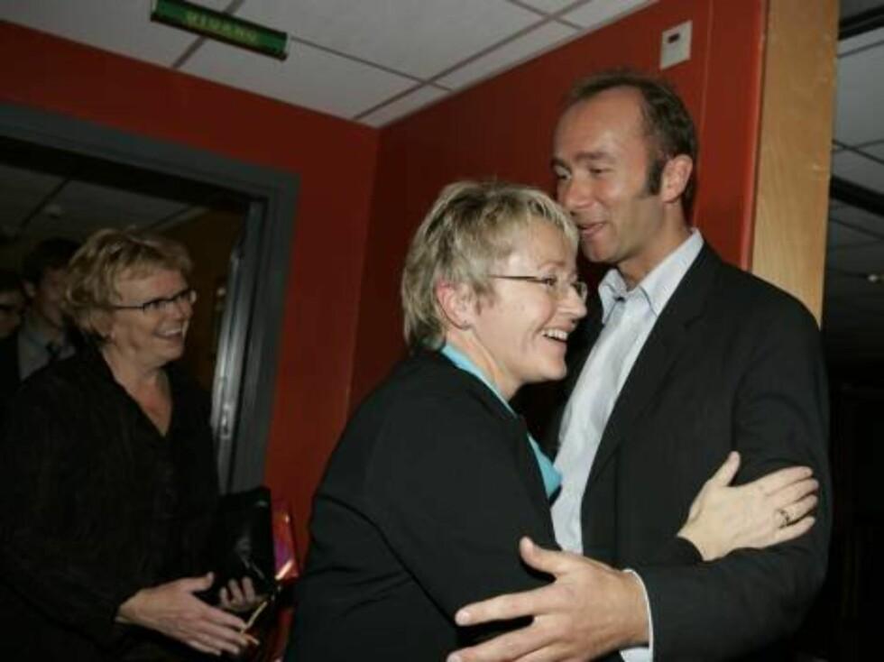 TROND GISKE 40 ÅR: Samferdselsminister Liv Signe Navarsete. Foto: Stella Pictures
