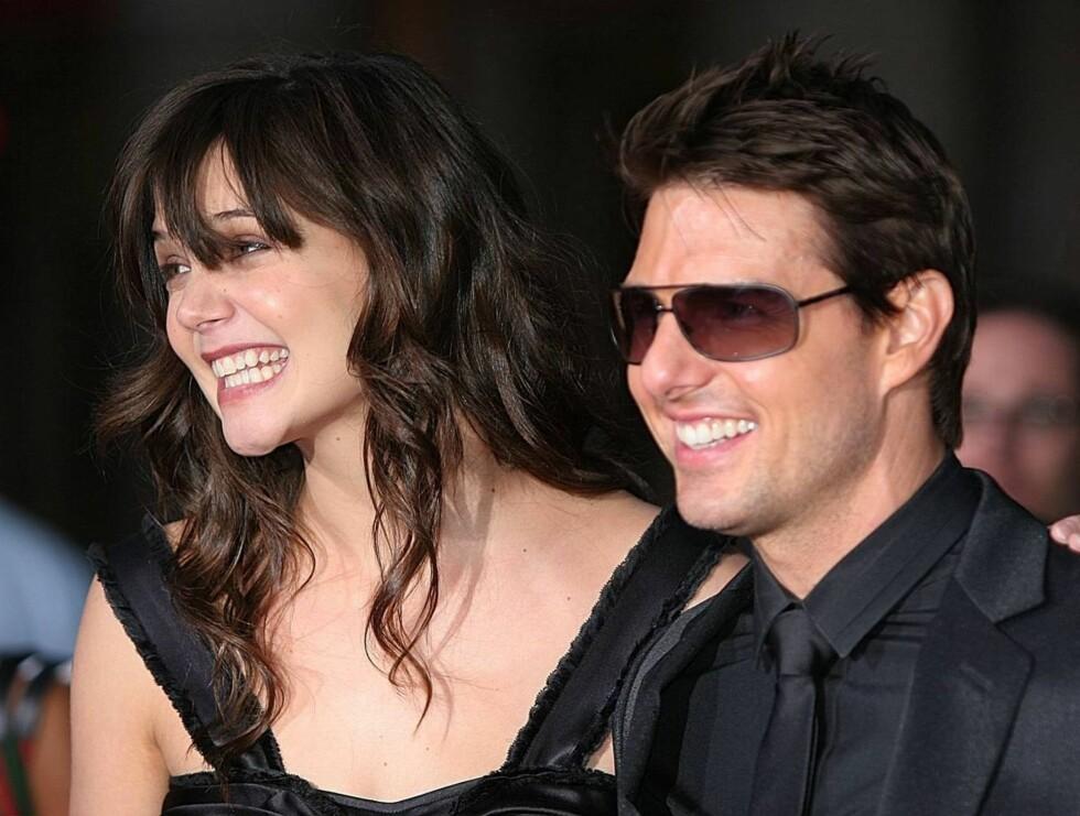 FORZA ITALIA: Tom Cruise og Katie Holmes knyttes nå til et italiensk slott i forbindelse med sitt bryllup. Foto: AP