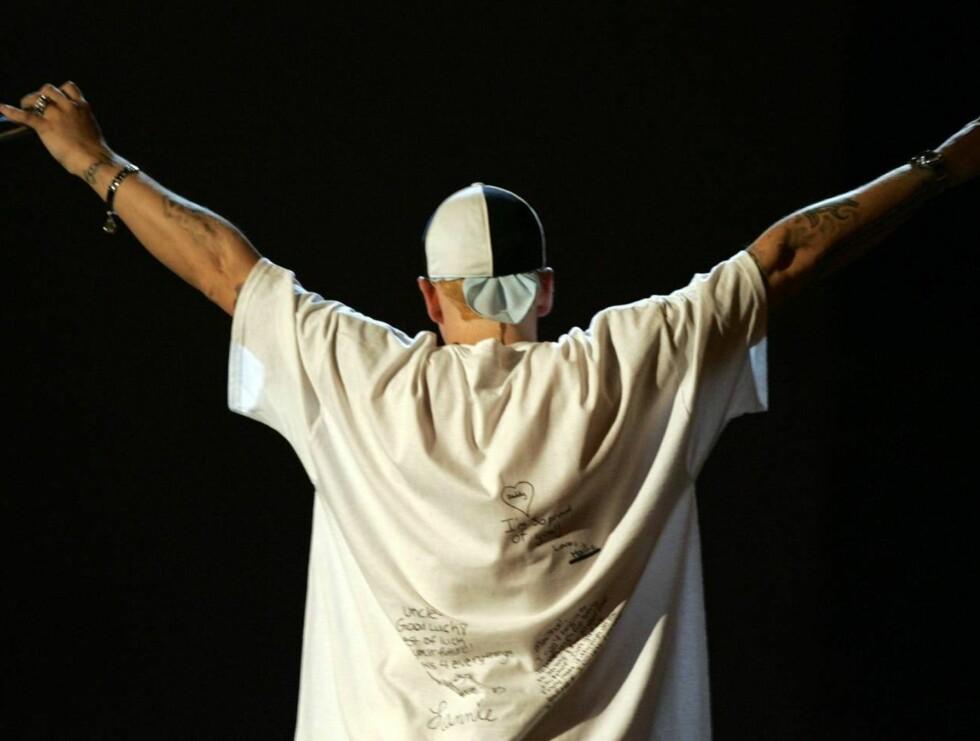 STORHET: Det har vært taust fra Eminem siden samlealbumet i fjor. Foto: All Over Press