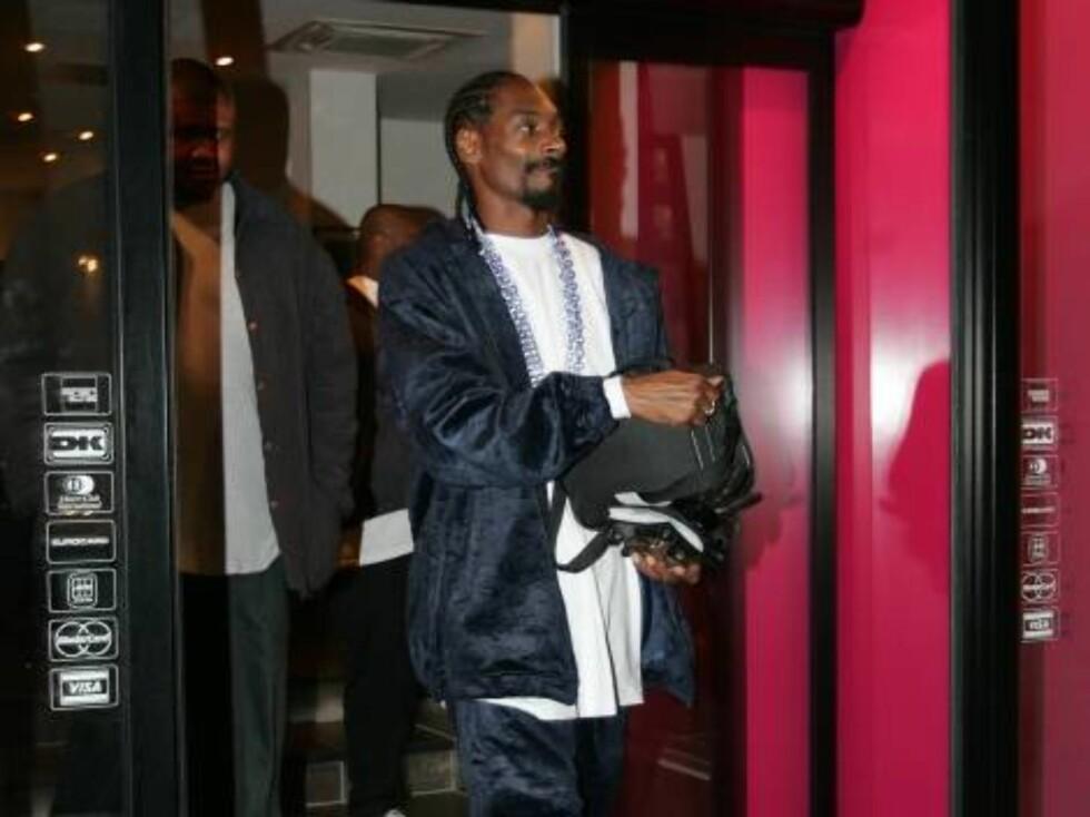 NACHSPIEL: Snoop vil hjem. Foto: STELLA PICTURES