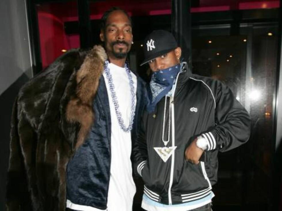 NACHSPIEL: Snoop vet å posere! Foto: STELLA PICTURES