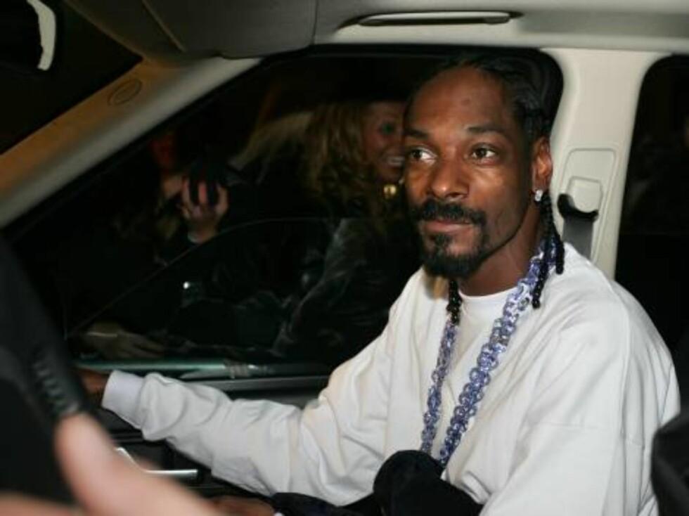 NACHSPIEL: Snoop med skrikende fans i bakgrunnen. Foto: STELLA PICTURES
