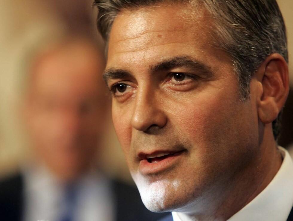 KONGEN: George Clooney har blitt kåret til verdens mest sexy mann flere ganger. Foto: AP/Scanpix