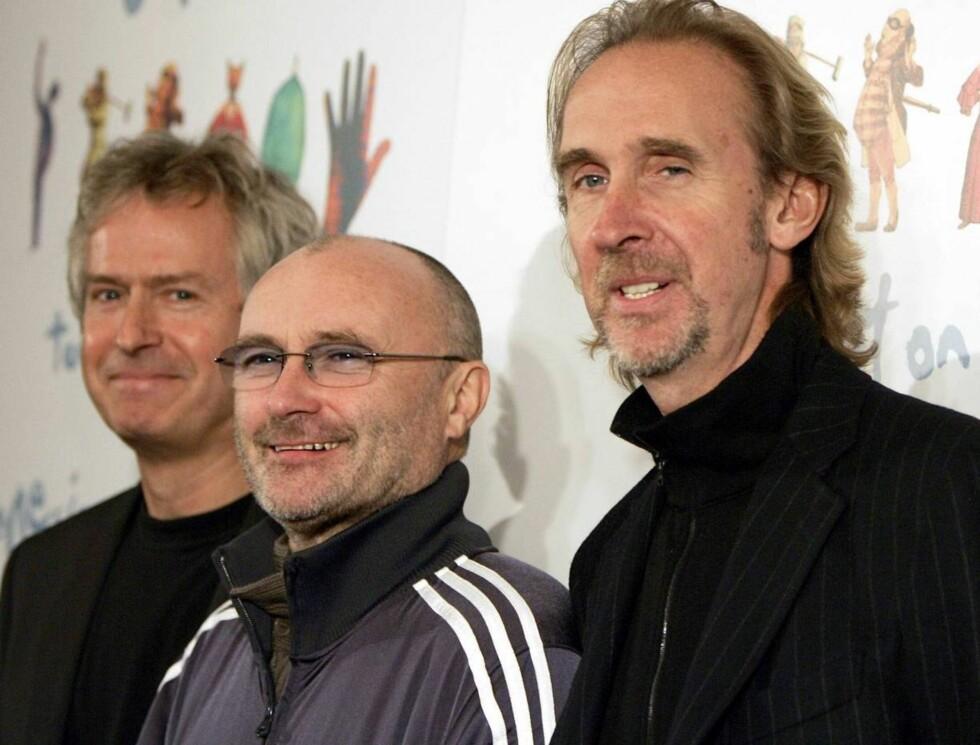 GAMLE HELTER: Genesis gjør seg klare for gjenforeningsturné. Foto: AP