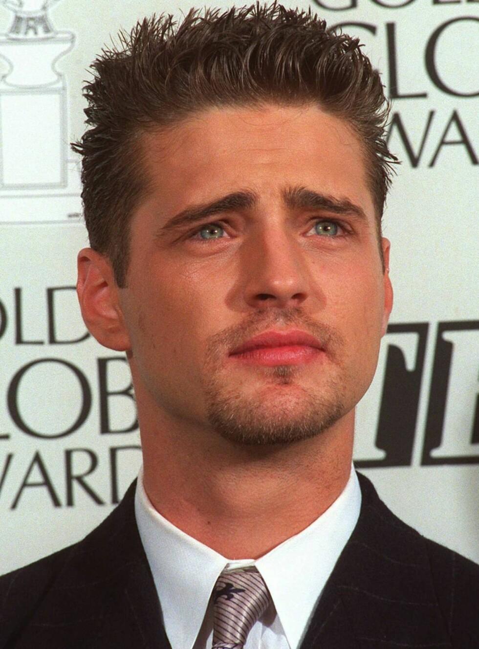 ANNO 1994: Unge herr Priestley og de bekymrede øyenbrynene hans var mange jenters drøm. Foto: AP