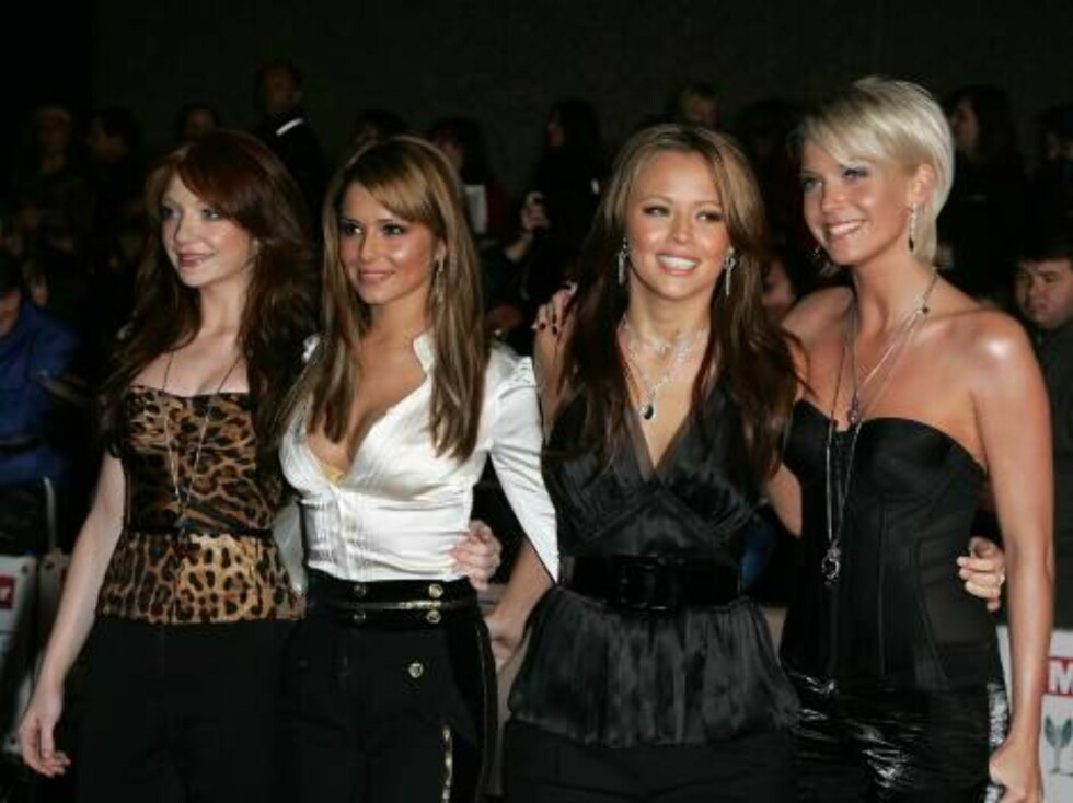 London 2006-11-06  Girls Aloud  at the Pride of Britain Awards 2006 arrivals held at the LWT Studios in London.   Photo: Axel  Code:3008  COPYRIGHT STELLA PICTURES Foto: Stella pictures