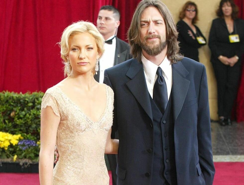EKSEN: Det er ikke lenge siden Kate og ektemannen Chris Robinson ble separert. Foto: All Over Press
