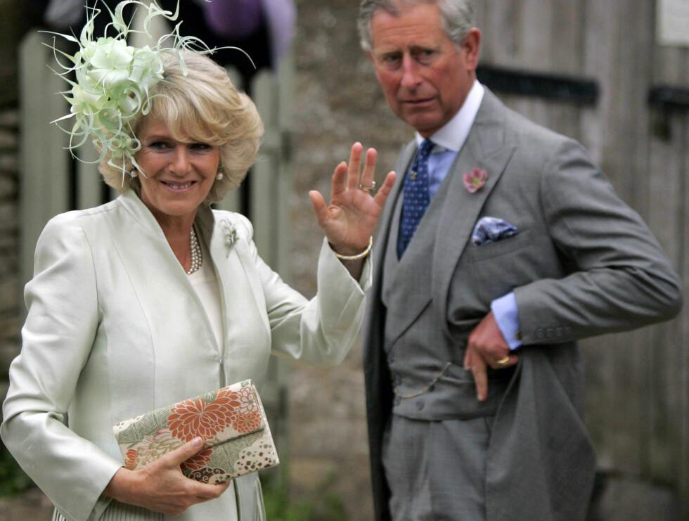 FÅR TRUSLER: Camilla har blitt truet på livet etter at hun giftet seg med prins Charles. Foto: AP