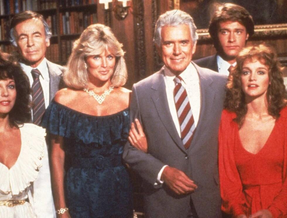 SUKSESSERIE: Linda Evans var alles favoritt i dramaserien Dynastiet. Foto: All Over Press