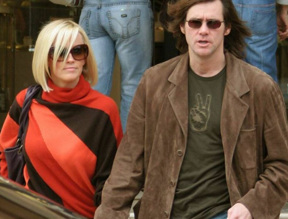 SAMMEN PÅ SHOPPING: Jim Carrey og Jenny McCarthy Foto: Stella Pictures