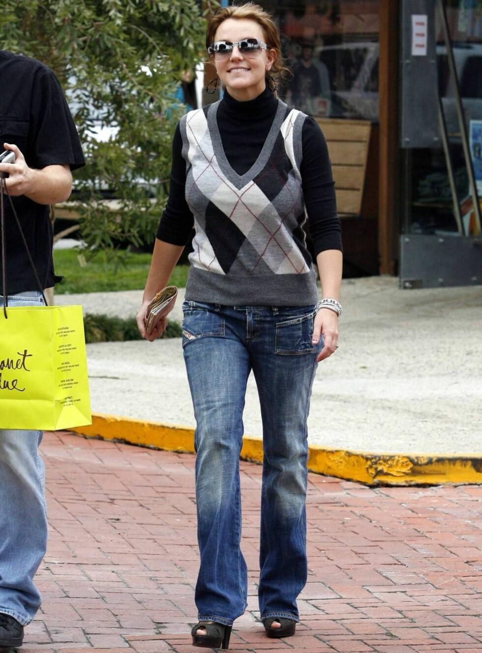 SLANK IGJEN: Britney raste ned i vekt bare få uker etter fødselen. Foto: All Over Press