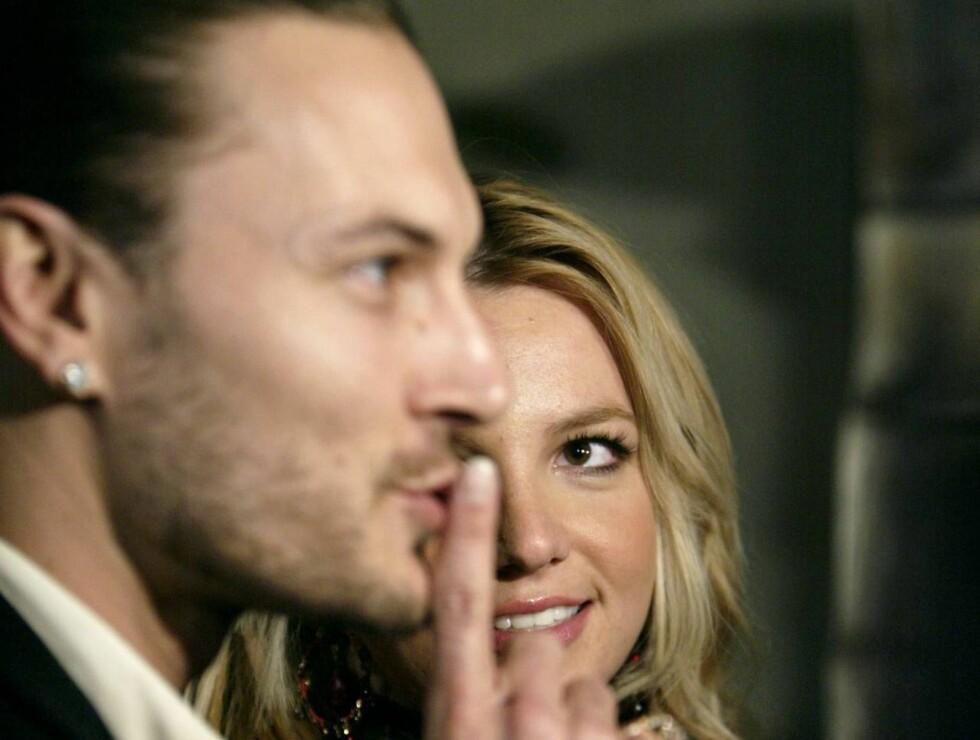 SLØSING: Kevin har gamblet hardt og tapt - med Britneys penger. Nå vil han ha mer, for å holde kjeft. Foto: Svanpix/AP