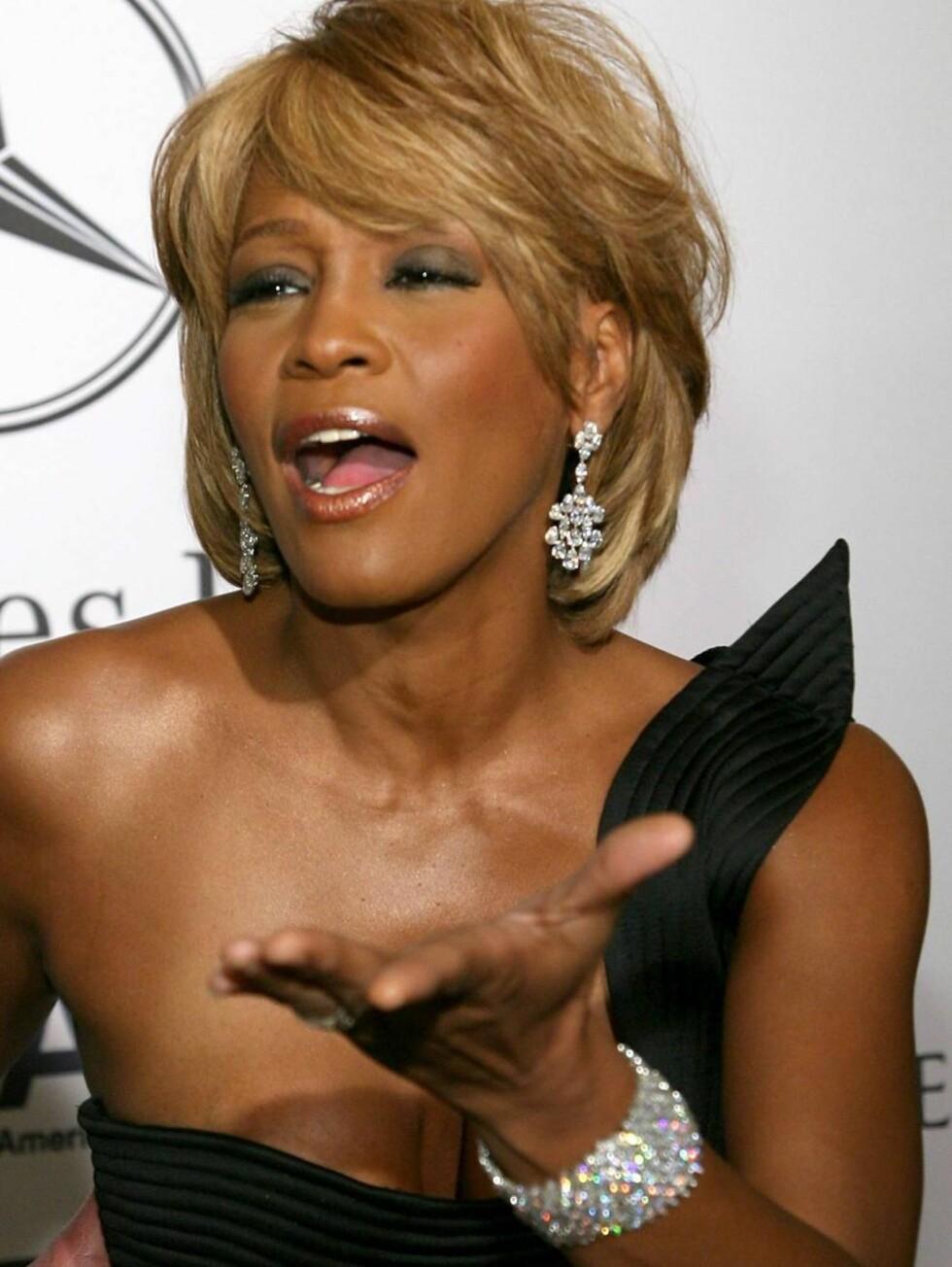 OI: Whitney Houston har over syv millioner kroner i ubetalt gjeld ... Foto: All Over Press