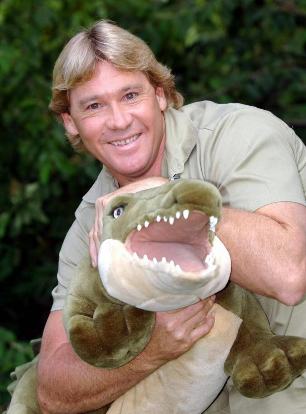 DREPT: Det var i begynnelsen av september at Steve Irwin ble drept av en piggrokke. Foto: AP/Scanpix