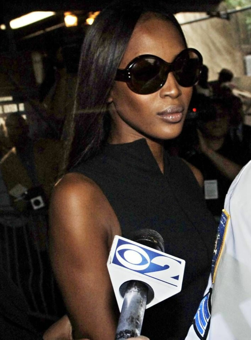 LØSLATT: Naomi Campbell er ute mot kausjon, men må melde seg hos politiet senere denne måneden. Foto: AP
