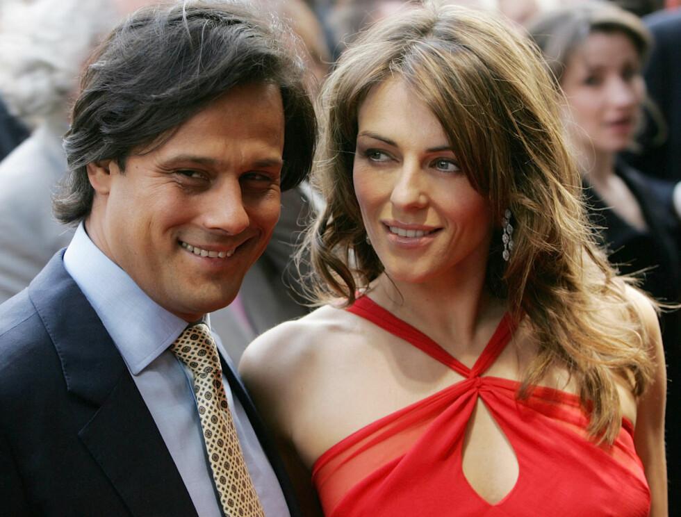 KLINER TIL : Arun Nayar og Liz Hurley gifter seg både i England og India. Foto: AP