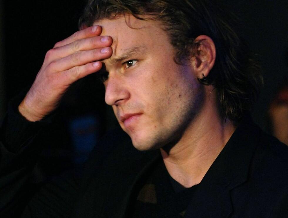 SELEKTIV: Heath Ledger velger konsekvent roller han ikke tror Mel Gibson ville valgt. Foto: All Over Press
