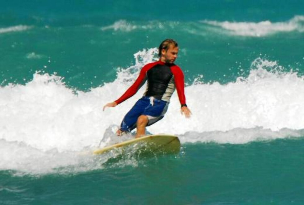 Lost star Dominic Monaghan goes surfing in Honolulu Oct 25, 2006 X17agency exclusive Foto: All Over Press