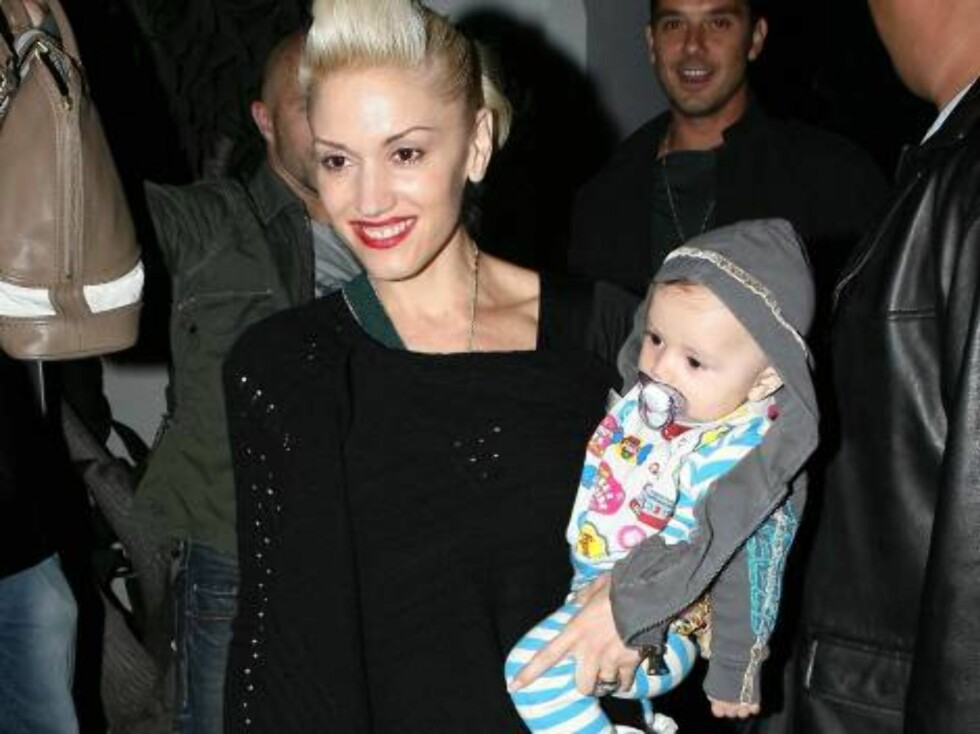 Gwen Stefani with baby Kingston at Dar Maghreb in Hollywood oct 28, 2006 X17agency EXCLUSIVE Foto: All Over Press