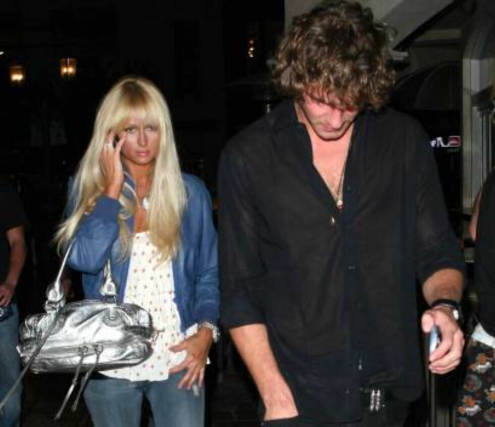 Paris Hilton going to the movies with Stavros Niarchos in Hollywood, sending a message to Lindsay Lohan He is still mine!!!  The couple saw The Departed and went home in Stavros's car. Oct 24, 2006 X17agency EXCLUSIVE Foto: All Over Press