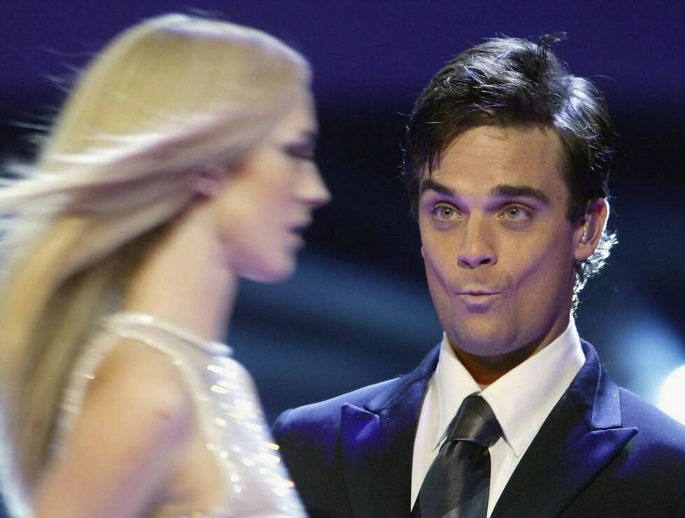 LEI AV SJEKKING: Robbie innrømmer at han var uten hemninger - og hadde sex overalt... Foto: All Over Press