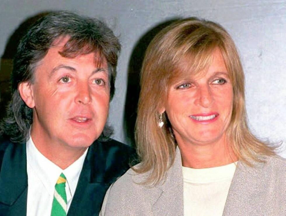 KJÆRLIG EKTESKAP: Ikke ifølge Heather Mills som sjokkerer med insinuasjoner om at Paul slo Linda McCartney. Foto: AP SCANPIX