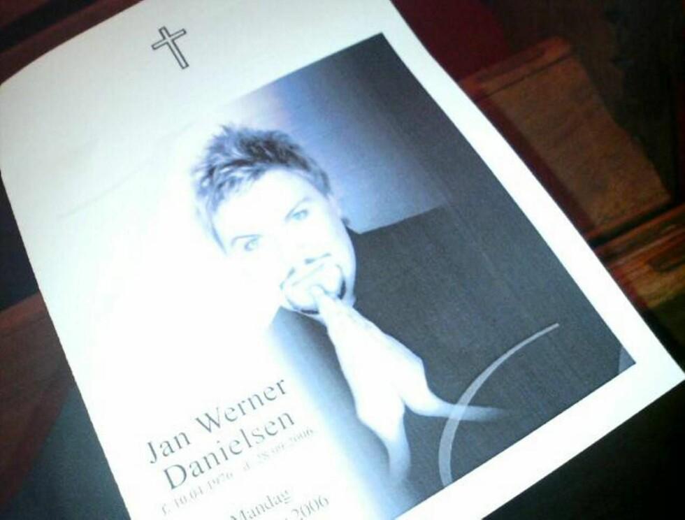 FOND: Stiftelsen etter Jan Werner skal hvert år dele ut en pengegave og en plakett til en ung kunstner med et godt talent Foto: Se og Hør Nett