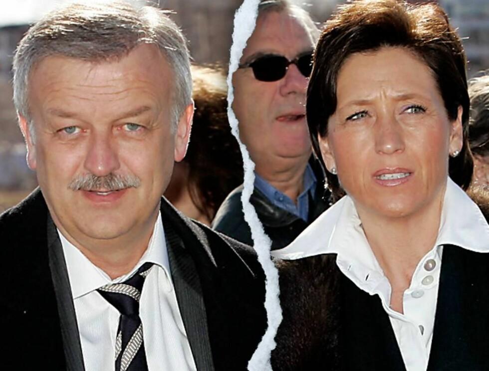 MYE OMTALT: Skilsmissen mellom Hallvard Flatland og kona Anne-Lise har vært hett stoff, men ikke hos sladder-dronning Dorthe Skappel. Foto: Se og Hør