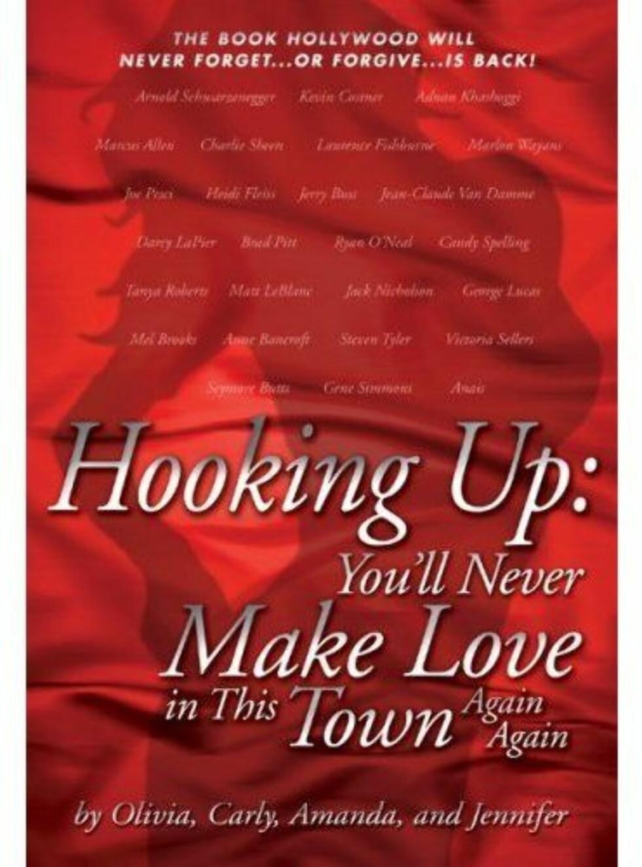 SKANDALEBOK: Her er den røde boken som forteller om kjendisenes møter med prostituerte. Foto: FAKSIMILE