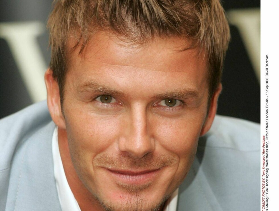 NY FILMSTJERNE? Tom Cruise mener fotballspilleren David Beckham kan bli en stor Hollywood-stjerne! Foto: All Over Press