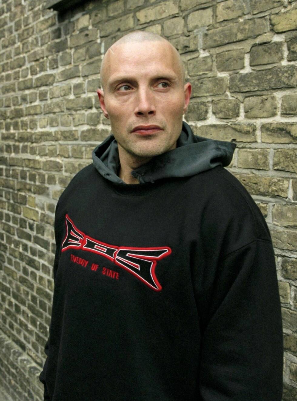 DEBUT: Mads ble kjendis etter innsatsen som Tonny i danske Pusher. Foto: Filmweb