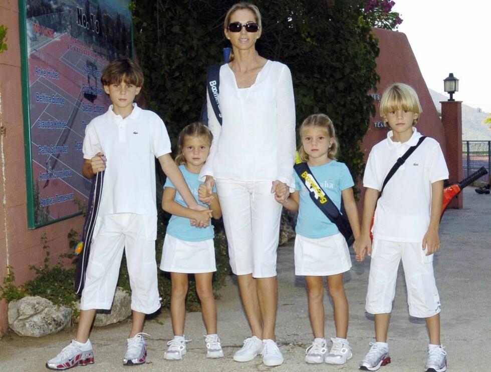 FAMILIEFORØKELSE: Julio har allerede fire barn med kona Miranda Rijnsburger. Nå venter de sitt femte. Foto: All Over Press