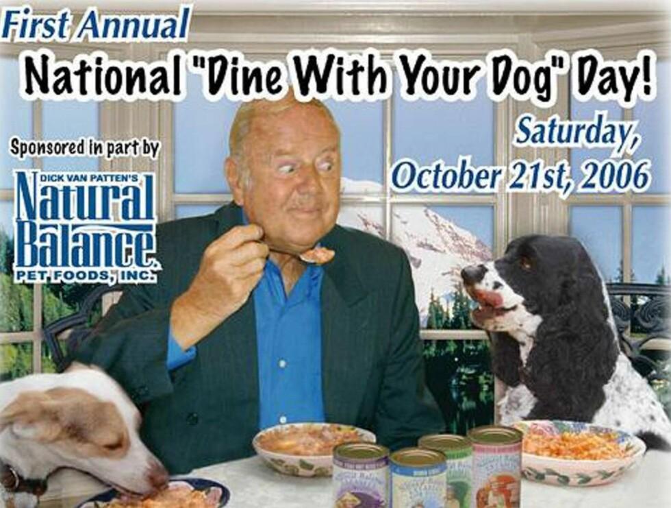 NAM, NAM: - Det er egentlig ikke hundemat, det er akkurat som stuing, forteller produsenten bak Natural Balance. Foto: Dine With Your Dog Day