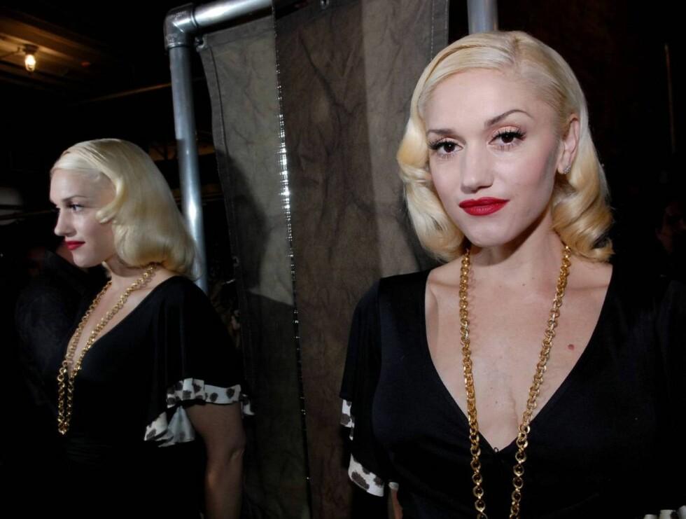 VAKKER: Gwen Stefani regnes som en av de smukkeste jentene i bransjen.  Foto: AP/scanpix