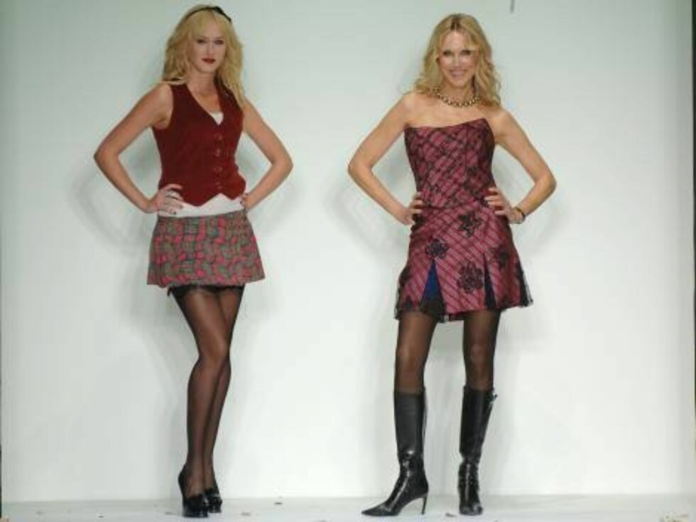 LOS ANGELES 2006-10-14  Kimberly Stewart and Alana Stewart attends the 2006 Dressed to  Kilt, an evening of Scottish fashion to kick-off the Mercedes-Benz fashion week. Los Angeles, October 14, 2006. (Pictured: Kimberly Stewart and Alana Stewart ).   Phot Foto: Stella Pictures
