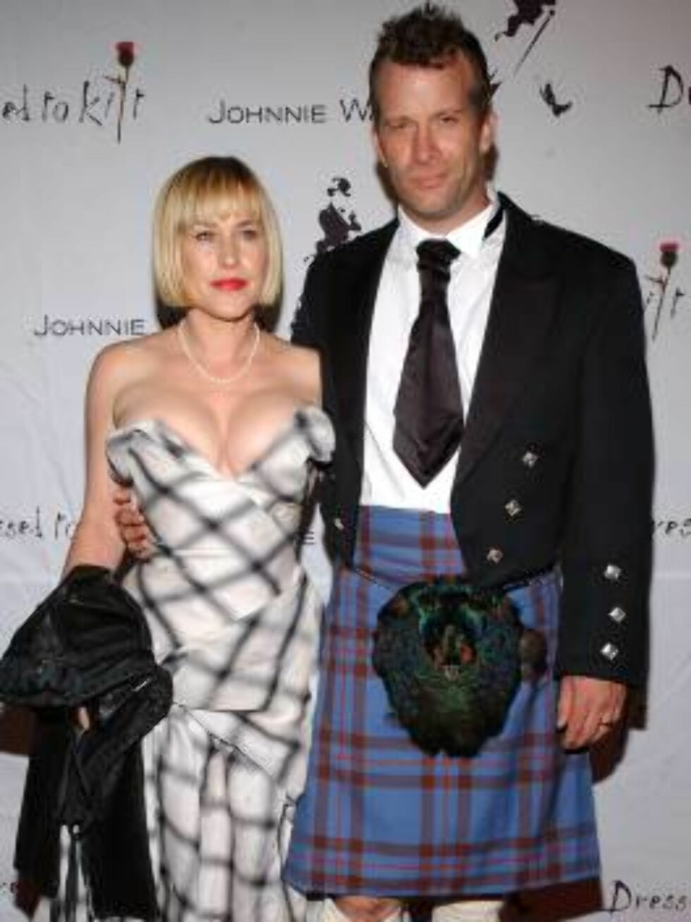 LOS ANGELES 2006-10-14  Thomas Jane, Patricia Arquette  attends the 2006 Dressed to  Kilt, an evening of Scottish fashion to kick-off the Mercedes-Benz fashion week. Los Angeles, October 14, 2006. (Pictured: Thomas Jane, Patricia Arquette  ).   Photo: Lio Foto: Stella Pictures