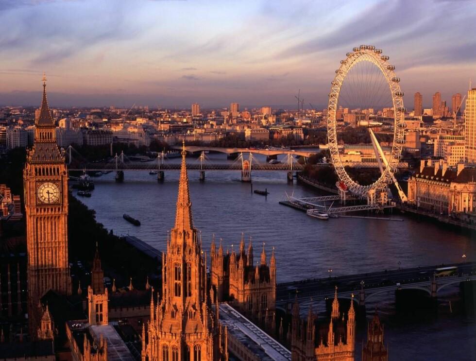 HVA VIL DU I LONDON: Ved å ta en ny personlighetstest på nettet får du vite hva slags type steder du bør besøke i London. Foto: britainonview/ McCormick-McAda