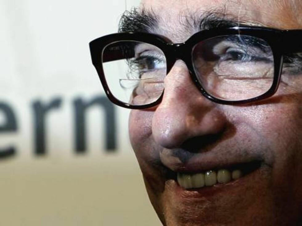 Scorsese med sine karakteristiske briller. Foto: All Over Press