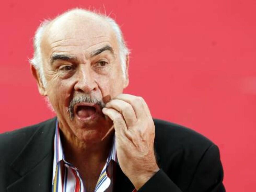 """""""The Rock""""-legenden Sean Connery. Foto: AP/Scanpix"""