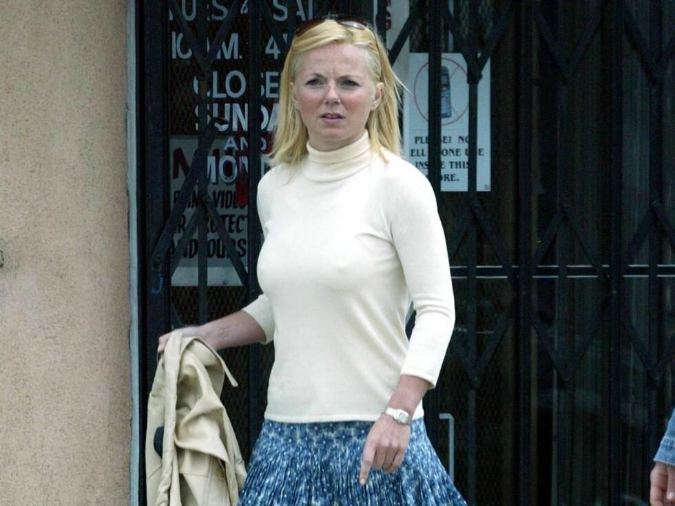 REDD: Ifølge kilder, har Geri blitt forfulgt av den samme mannen i flere uker. Foto: Stella Pictures