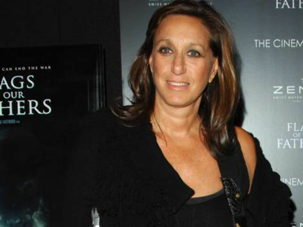 NEW YORK 2006-10-16  Designer Donna Karan attends attends The Cinema Society and Zenith Watches screening of Flags Of Our Fathers held at the Tribeca Grand screening room on Monday, October 16, 2006  in New York City, New York. (Pictured: Donna Karan )    Foto: STELLA PICTURES