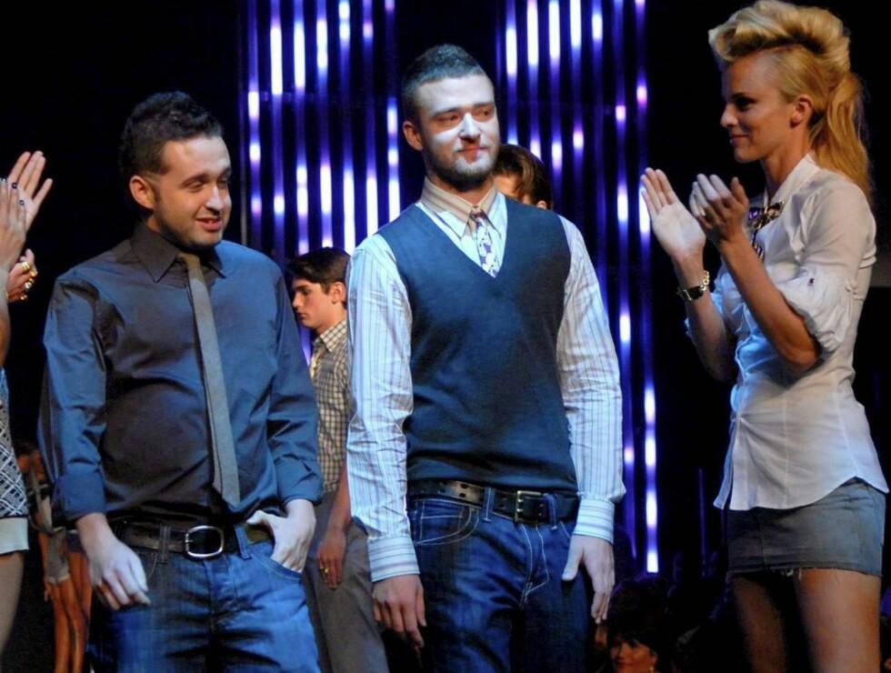 FIKK APPLAUS: Justin Timberlake ble hyllet da showet var over. Foto: Stella Pictures