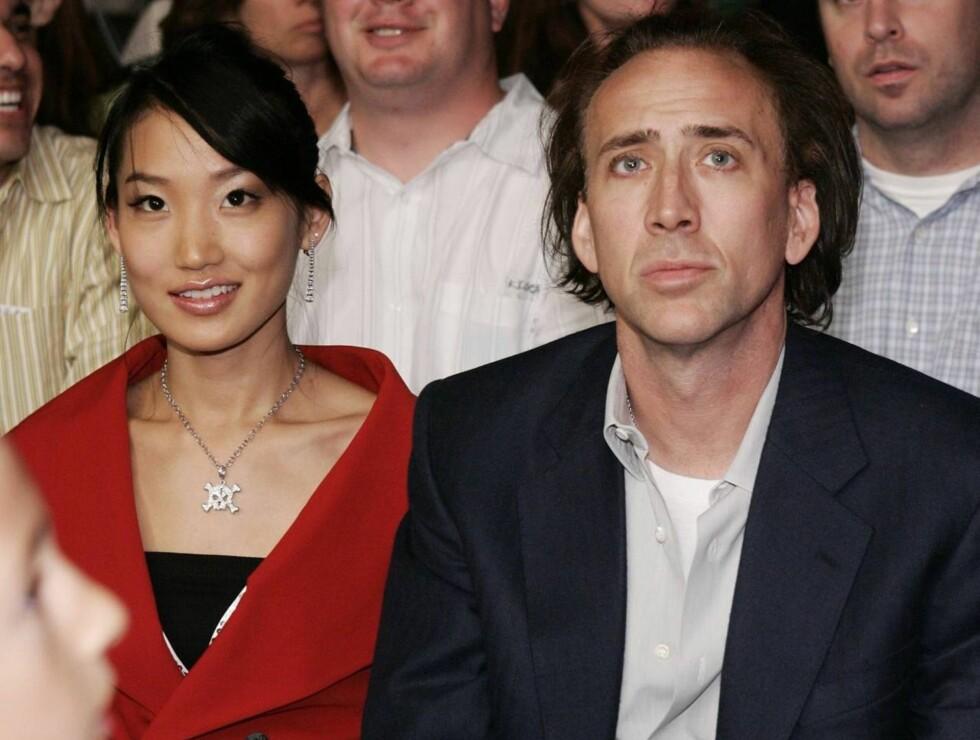 NYTT HJEM: Alice Kim og Nicolas selger hans ungkarsborg - og skal nå kjøpe et palass sammen! Foto: All Over Press