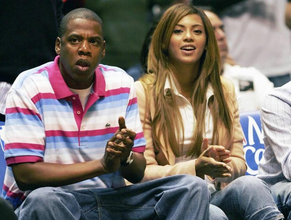 BLAR OPP: Jay-Z og Beyoncé lar ikke overvekt ødelegge ferien. Foto: All Over Press