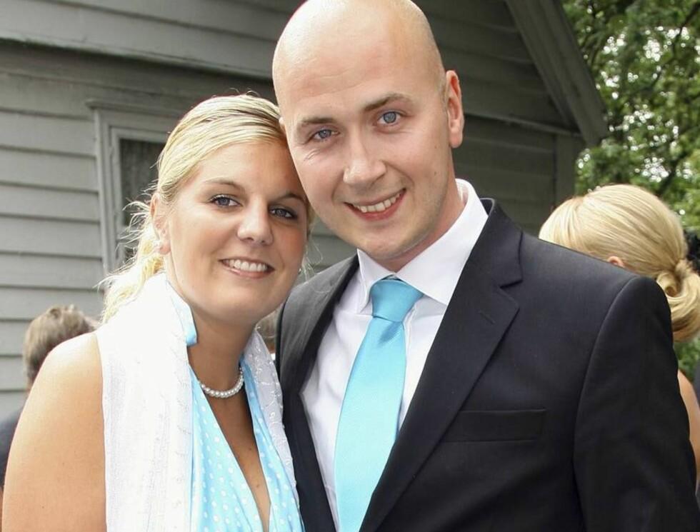 GIFTER SEG: Katrine og Terje har allerede datteren Adelia (9 mnd) sammen. Nå blir de endelig mann og kone! Foto: Se og Hør