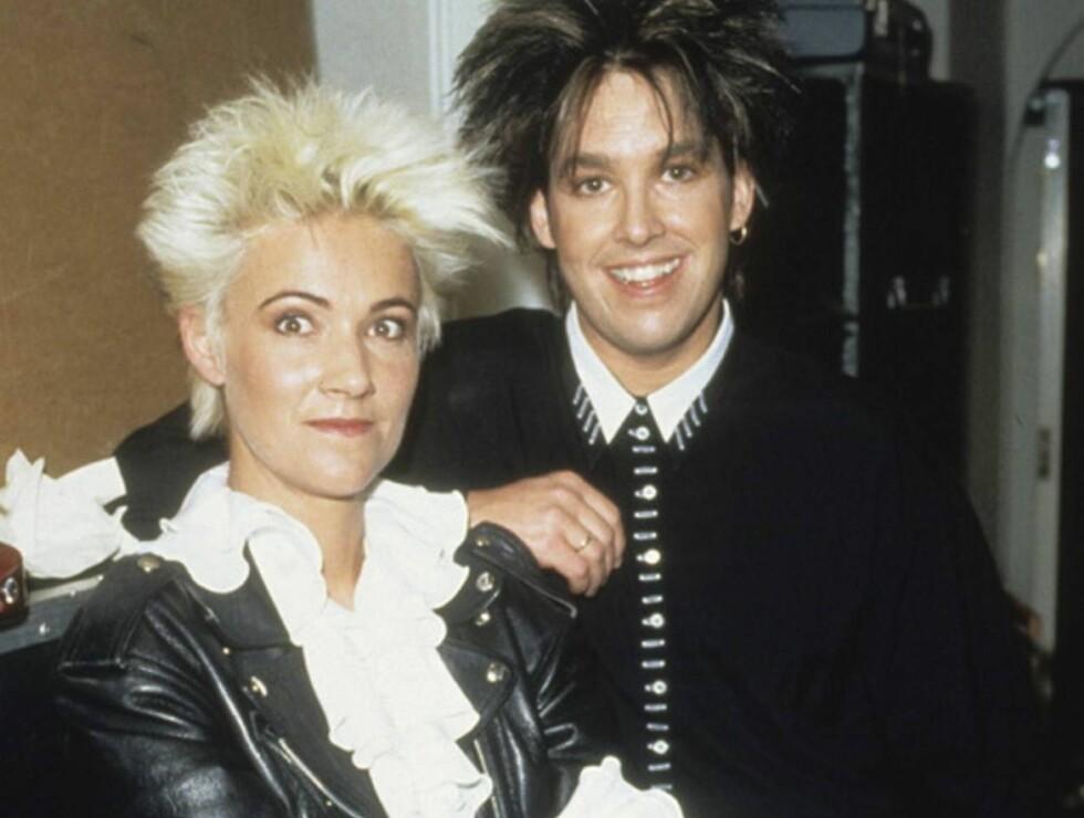ANNO 1992: Marie og Per hadde nesten makne frisyrer, bare i ulik farge. Foto: Stella Pictures